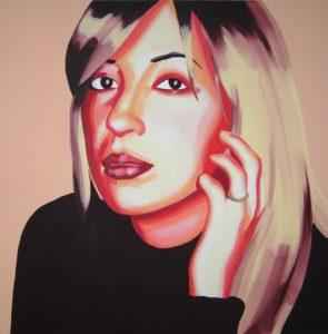 Emiliano-Stella-Amalia-Della-Sala-acrilico-su-tela- 80x80cm-2007