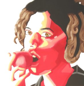 Emiliano-Stella-Gaia-vuole-solo-assaggiare-olio-su-tela-60x60cm - 2006