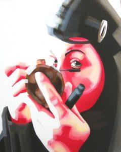 Emiliano-Stella-make-up-olio-su-tela-40x50cm - 2006