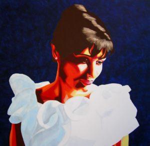 Emiliano-Stella.Amelia-Sandulli-Ritratto-acrilico-su-tela-80x80cm-2009