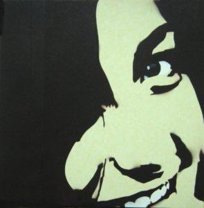 Emiliano-Stella-Vanessa-tecnica-mista-su-carta-da-parati-incollata-su-mdf-61x61cm-2007