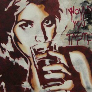 Emiliano-Stella-Would-you-taste-tecnica-mista-su-tessuto-40x40cm-2010