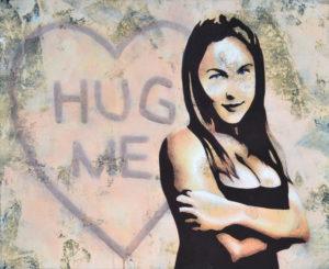 Emiliano-Stella-hug-me-tecnica-mista-su-tessuto-80x65cm-2012