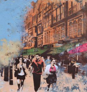 Emiliano-Stella-Irving-Street-London-tecnica-mista-su-tessuto-incollata-su-legno-85x90cm-2016