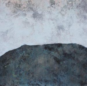 emiliano-stella-microsfera-pe-iceberg-tecnica-mista-su-tessuto-incollata-su-legno-50x50,5cm-2019