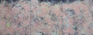 emiliano-stella-microsfera-pe-plastica-fluttuante-tecnica-mista-su-tessuto-acquarello-su-carta-100x264cm-2020